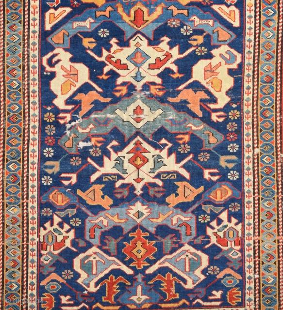 19th Century Shirvan Bidjov Rug Size 120 x 160 Cm