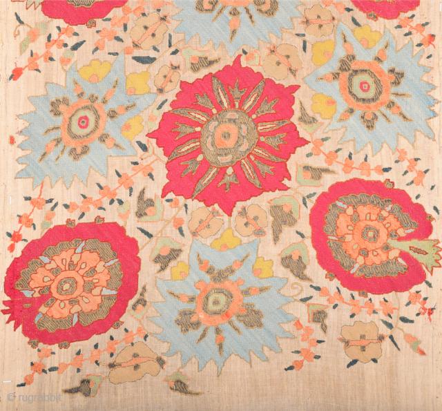18th Century Ottoman Greek Textile Size 50 x 70 cm ıt has methal in side.