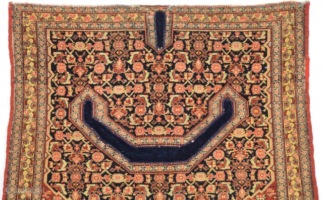 19th Century Lovely Senneh Saddel Bag Cover Size 95 x 100 Cm