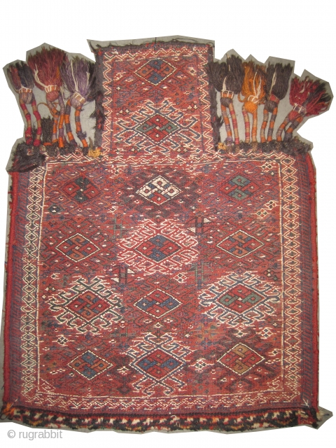"Namakdar Baktiar Persian circa 1910 antique. Collector's item. Size: 74 x 59 (cm) 2' 5"" x 1' 11""  carpet ID: A-743
