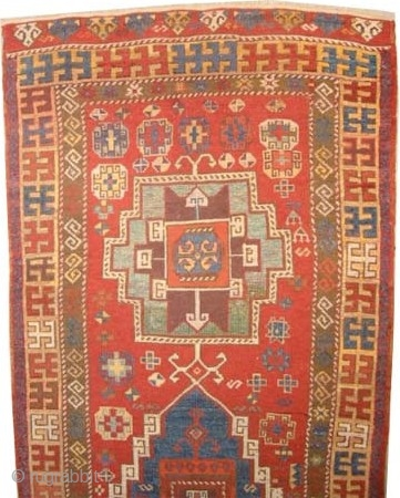 "Konya Anatolian antique. Collector's item, Size: 321 x 114 (cm) 10' 6"" x 3' 9""  carpet ID: K-5390