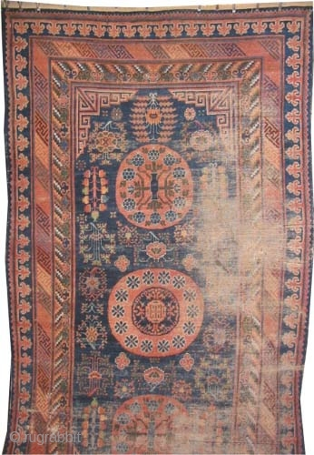 "Khotan, Size: 370 x 200 (cm) 12' 2"" x 6' 7""  carpet ID: K-4818