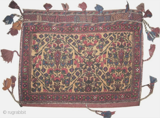 "Afshar Persian circa 1925 semi antique. Collector's item. Size: 60 x 46 (cm) 2'  x 1' 6""  carpet ID: SA-948