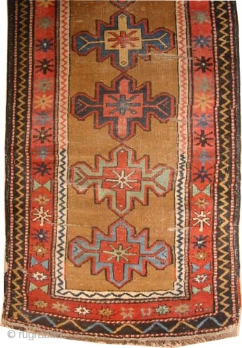 "Shahsavan Persian, circa 1910, antique. Collector's item, Size: 324 x 98 (cm) 10' 7"" x 3' 3""  carpet ID: K-2189 