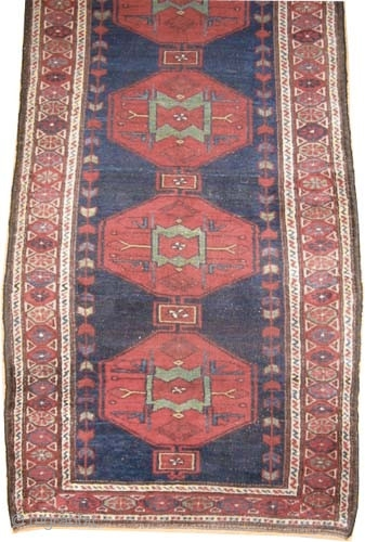 "Noubaran Persian, circa 1912, antique, collector's item, Size: 330 x 104 (cm) 10' 10"" x 3' 5""  carpet ID: K-4101 