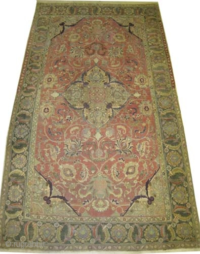 "Persian, antique. Collector's item, Size: 324 x 185 (cm) 10' 7"" x 6' 1""  carpet ID: P-3518 
