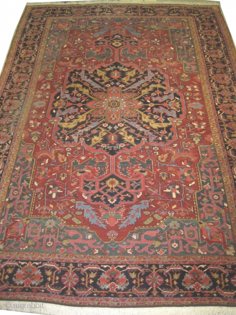 Heriz Persian circa 1910 antique, 264 x 378 cm, carpet ID: KI-1 
