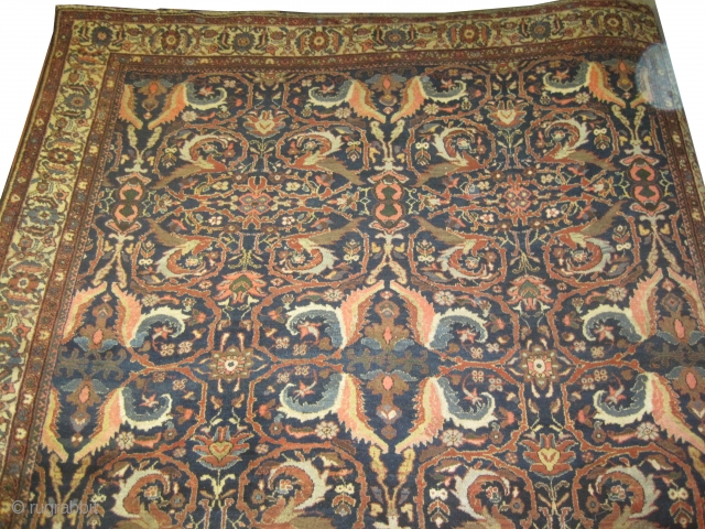 "Ziegler-Mahal Persian circa 1900, antique, , Size: 358 x 293 (cm) 11' 9"" x 9' 7""  carpet ID: P-1335 