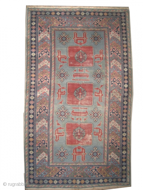 "Karagashli Caucasian old. Size: 142 x 87 (cm) 4' 8"" x 2' 10""  carpet ID: OZ-1