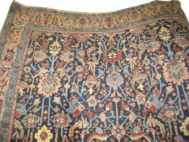 "Bakshaish Heriz Persian circa 1905 antique. Size: 328 x 250 (cm) 10' 9"" x 8' 2""  carpet ID: P-1364 High pile, perfect condition, the knots are hand spun wool, vegetable dyes, the  ..."