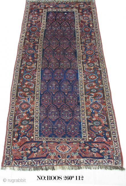 Rug 2634: Antique Caucasian, unknown clan, symmetrical knots, all wool, restored, collectable piece, natural vegetable dyes. size: 260x112 cm. It can be shipped to anywhere in the world (shipping & insurance costs  ...