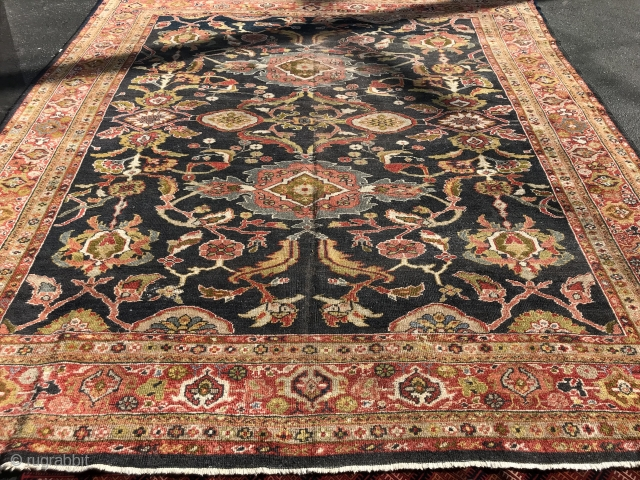 Antique persian mahal 8x10 great condition no holes or damages