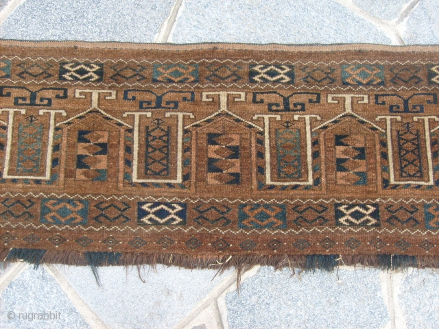 An antique ERSARI torba in very perfect conditions.