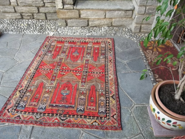167 x 119  cm   =  5.47 ft x 3.91 ft.   