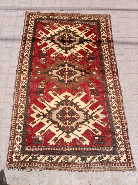 Old Eagle design kurdi rug Contact for more info and pictures.