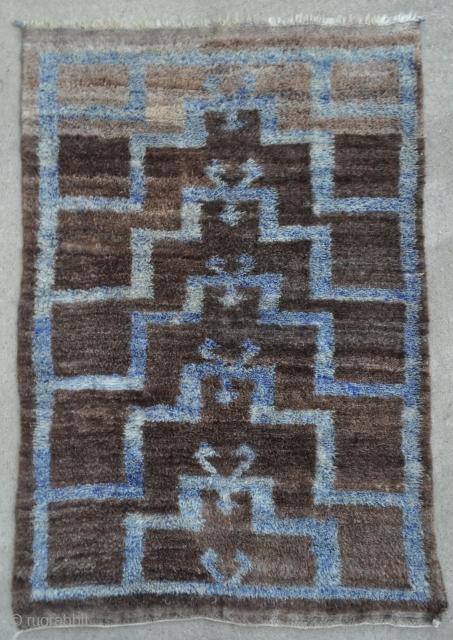 Anatolian Karapinar Tulu rug - 4'1 x 5'11 - 125 x 180 cm.