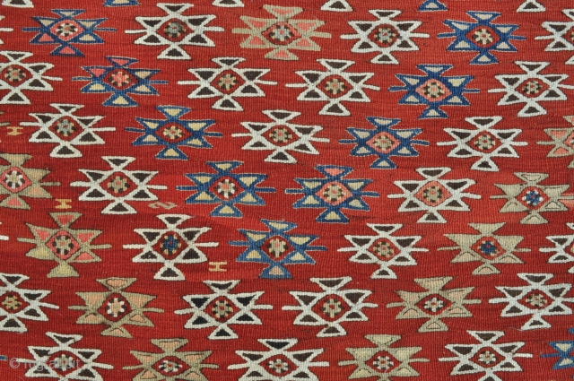 South Anatolian Yoruk Kilim - 4'1 x 6'5 ft. - 124 x 195 cm.