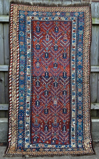 Lovely Luri Tribal rug with Beautiful colors and in Great original shape - feel free to contact for details if interested....