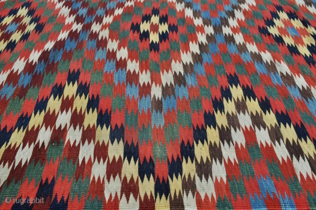 Qashqai Kilim detail