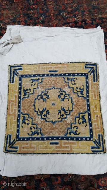 Antique Ningxia sq 60 x 60 even wear.