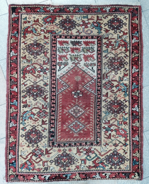 Small size Melas Prayer Rug ,