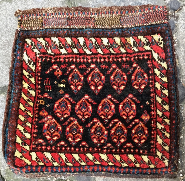 Afshar knotted bagface