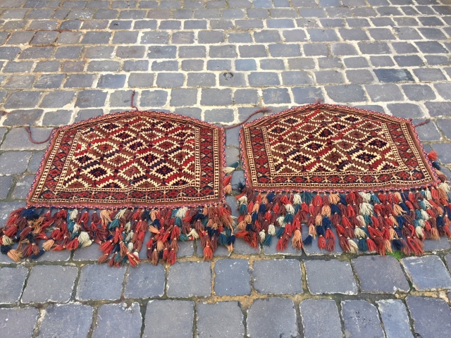 Yamout asmalyk Pair late 19th century  excellent condition