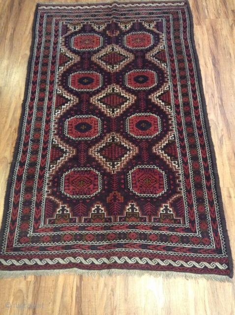 Antique Beluch Vegetable Colors Very good Condition  Size 190x110