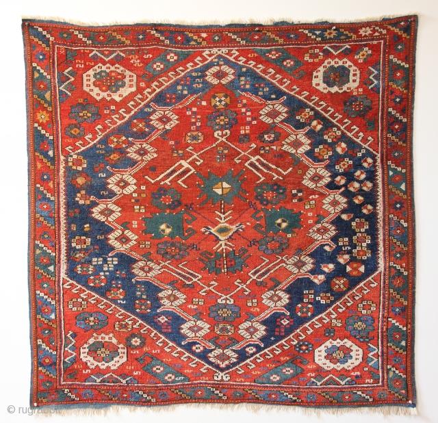 An Exceptional Kiz Bergama Rug, West Anatolia, Mid 19th Century.