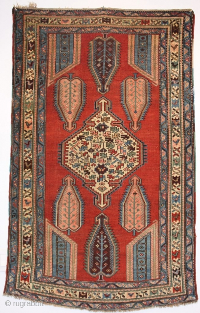 Hello All! Here is a beautiful Shikli Kazak, woven in the South Caucasus, late 19th century. 3-5 x 5-5 ft. Please have a look at my weekly updated website: www.hazaragallery.com