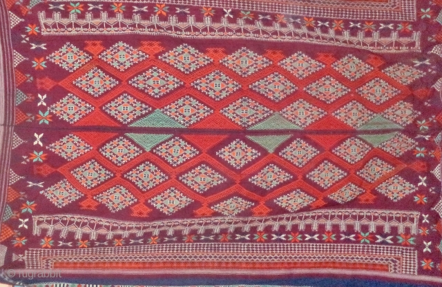 Odhani probably from Shekhwati district of rajasthan. very rare design.