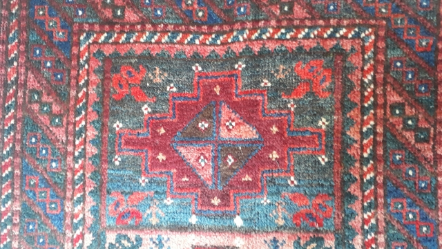 Balochi balisht with very rich colors. Size 77x55