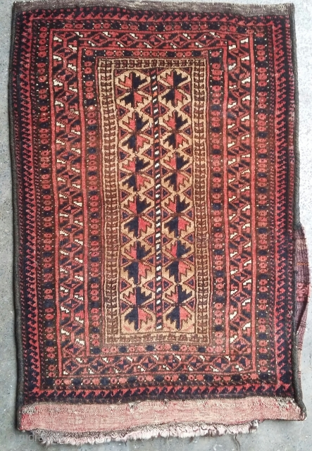 Very old kodani balisht. Size 80x53 cm