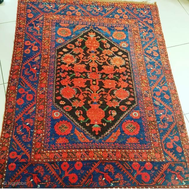 128x173cm antique anatolian carpet