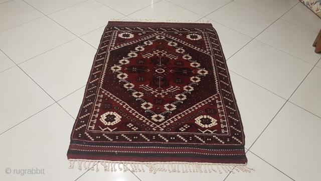 Bergama,Anatolian (Kızbergama)wool rug 115x170cm Very good condition
