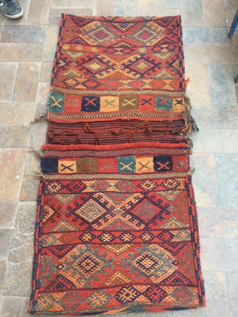 Old Persian saddle bag.