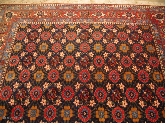 Veramin carpet with Mina Khani design, size: ca.330x210cm / 10'8'' x 6'9'' circa 1930
