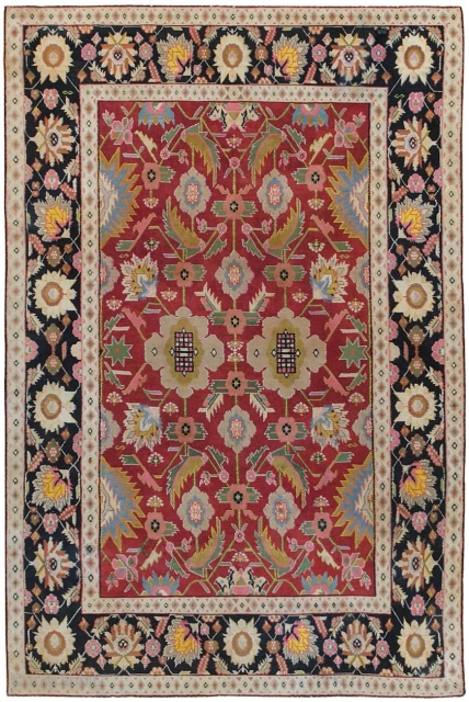 Antique Cotton Agra Rug 44380, Size: 4' x 6', Origin: India, Circa: Early 20th Century 1900 - This impressive and genuinely majestic antique Oriental rug – an antique Indian cotton Agra rug that was woven in India  ...