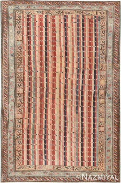 This rug is part of OCT 15th auction.Antique Caucasian Shirvan rug , Circa 1880's.This auction includes antique rugs, vintage rugs, oriental rugs and tapestry collection from all major weaving countries. The collection  ...