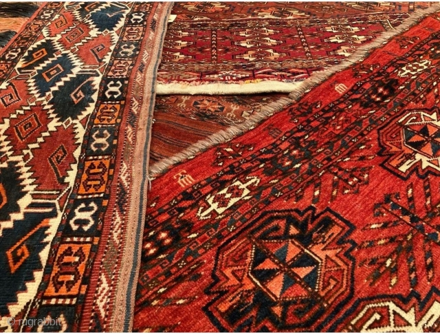 Another grouping of beautiful and collectible pieces straight from a New Hampshire collector's estate! If you share the love for the tribal Tekke / Turkman / Yomud rugs then our October 15  ...