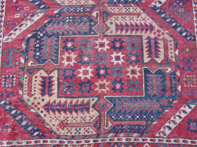 Central Asian rug, ?provenance