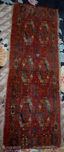 Circa 1820-1830s Turkoman Tekke torba