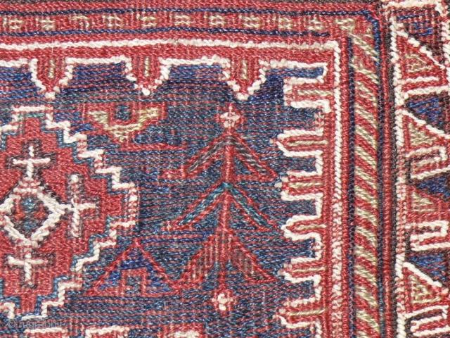 Persian Lury sumak bagface .45 x 45 cm
