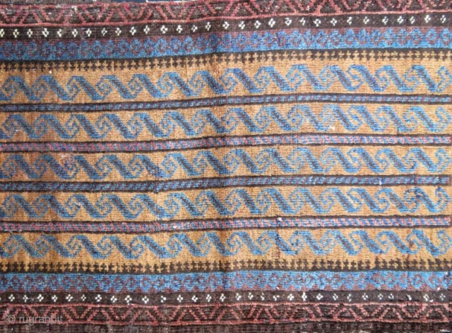 Antique Beluch yastik.104 x 52 cm