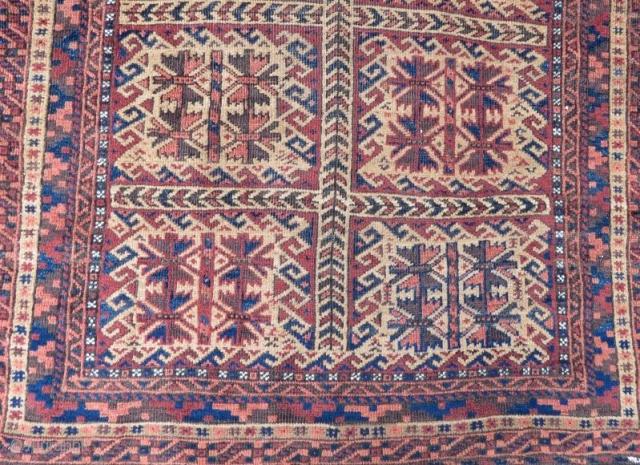 Antique Beluch Rug, 148 x 98 cm