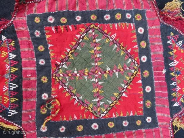 Turkmen camel cover fragment .55 x 50 cm . www.eymen.com.tr