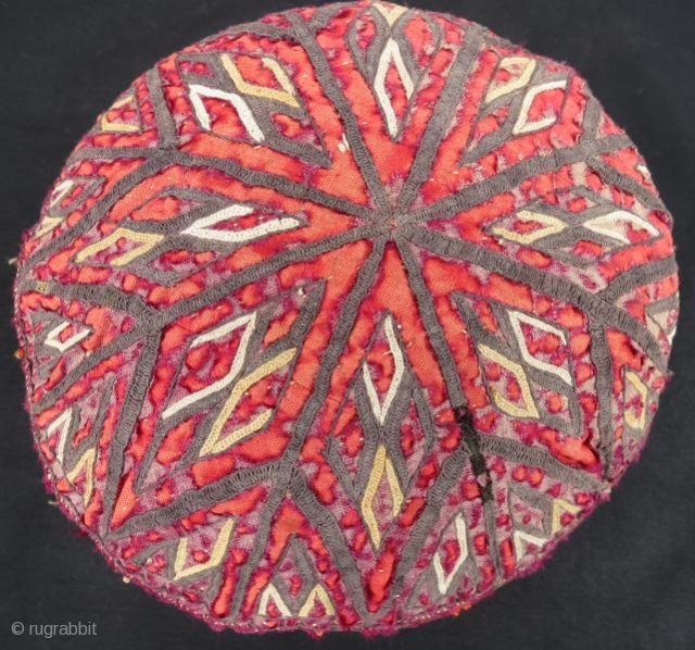 Antique Turkmen Yamut hat , 55 x 21 cm