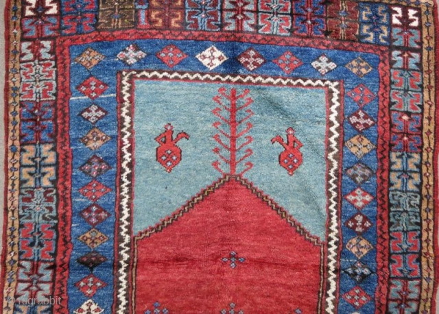 Anatolian Karaman Rug in good condition .150 x 120 cm  www.eymen.com.tr