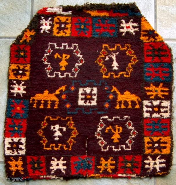 Uzbek/Kirghiz? Djol asp, Yak wool, 55x54cm, http://www.orientgalerie.ch/