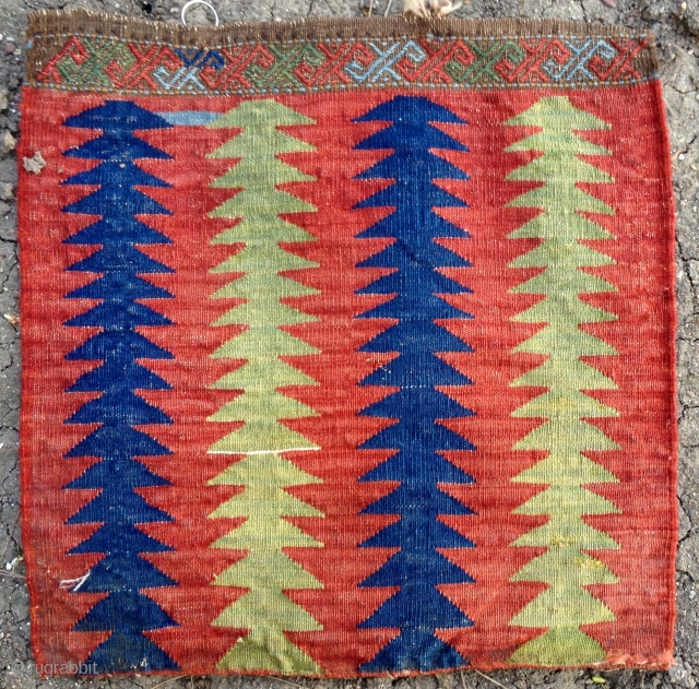 1870's Causcas kilim bag 46x47